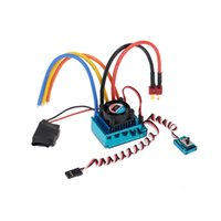 Nuovo 120A Sensored Brushless Speed ​​Controller ESC per 1/8 1/10 1/12 RC Auto Crawler