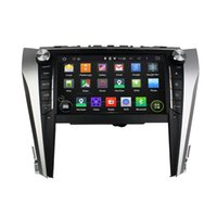 Wholesale Toyota Camry Dash Navigation - Android 4.4 Car DVD Player for Toyota Camry 2015 with GPS Navigation Radio BT USB AUX Audio Video Head Unit 4Core 1024*600