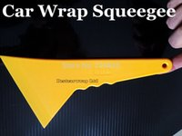 Wholesale window tinting tools wholesale - Larger Size Squeegee Vehicle Window Vinyl Film Car Wrap-Headlight tint - Applicator Tools Scraper 100pcs Lots Free shipping