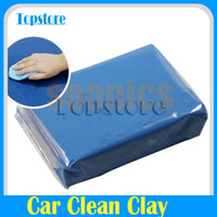 Mini Handheld Bleu pratique Surface Magic Car Clean Clay Bar Auto Detailing Recycle Cleaner A3 *