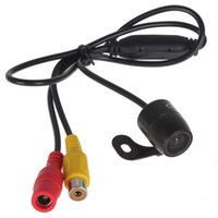 Wholesale Vehicle Security - E306 18mm Color CMOS   CCD Waterproof Vehicle Auto Car Rear view Camera Reverse Rearview Camera for Security Backup Parking