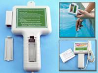 ingrosso tester ph tester acqua per piscina-PH / CL2 Chlorine Tester Misuratore di livello PH Tester Qualità dell'acqua per piscina Spa Con pacchetto Spedizione gratuita
