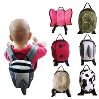 Wholesale Cartoon Children Books - Cartoon Canvas Bag Children Bags Backpacks Kid Baby Bag 2016 Boys Girls School Bags Child Backpack Book Bag Kids Bags Childrens Bags C19551
