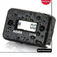 Digital Engine Tach Hour Meter Tacómetro Gauge Inductive LCD para gasolina Motor Racing Motorcycle ATV Mower Snowmobile Boat