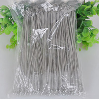 Wholesale Metal Hot Straws - 2015 Hot Sale Drinking Stainless Steel Straw Brush Metal Reusable Cocktail Drinking Straw Cleaner Brushes Nylon Brush For Straw