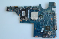 Wholesale Cq62 Motherboard - Wholesale-Free shipping laptop Motherboard for HP G42 G62 CQ42 CQ62 motherboard 592809-001 DA0AX2MB6E1 Fully tested 60days warranty