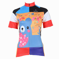 210 Girl Bear Short manica corta donna Jersey Bike outlet ciclo Maglia Plus Size maillot Geniune Paladin