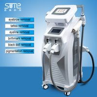 Neue Face Lift Fda Autocollant Ordinateur Sum 4 In 1 Opt Shr Haarentfernung Hautverjüngung Rf Nd Yag Laser Tattoo Maschine