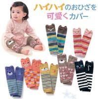 Wholesale Cute Infant Tights - New Cute Infant Baby Leg Warmer Girls Boys Cartoon Santa Leg Warm Child Socks Legging Tights Baby Skull Leg Warmers Children Warmers A3537
