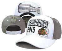 Wholesale Champions Brand - 2015 Stanley Cup Champion Snapbacks Hottest Blackhawks Caps Brand Hockey Hats Adjustbale Caps Fashion Sports Hats Cheap Snap Back Hats