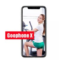 Wholesale Google Smart Cover - Best Version Goophone x goophone ix face recognition glass cover 4g lte Octa Core Wireless Charging 2G Ram 16G Rom Show 256Gb Dhl Free