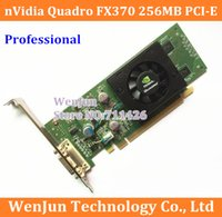 Wholesale Nvidia Quadro Card - 10pcs Free Shipping Original Quadro FX370 LP 256M PCI-E DMS 59 Professional Graphic Video Card Warranty 1years order<$18no track