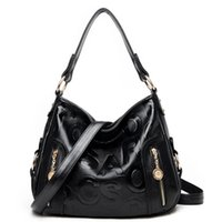 Wholesale Cell Phone Sales Online - black and brown leather handbags tote bag handbags women bags ladies hand purse online shopping ladies purse sale
