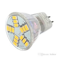 MR11 GU4 Led Spotlight AC / DC 12V 5730 SMD Lâmpada LED Lâmpada Energy Saving Led Spot Lâmpada Cool / Warm White