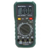 Wholesale Mastech Capacitance - Wholesale-MASTECH MY64 Digital Multimeter DMM Frequency Capacitance Temperature Professional Meter Tester w  hFE Test Testers Meters