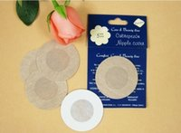 Wholesale Womens Nipples - Womens Sexy Disposable Cubrepezon Nipple Cover Patch Breast Nipple Pad Petals 10,000pcs(5pairs pack)