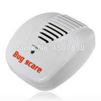 Wholesale Electronic Pest Control Machine - Wholesale-Electronic Ultrasonic Mouse Mosquito Rat Pest Control Repeller Bug Scare Machine