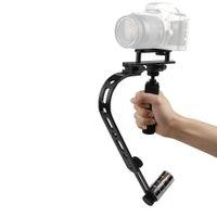 Wholesale Handheld Steadycam Stabilizer - Andoer Mini Camera Video Steadycam Steadicam Stabilizer for Canon Nikon Sony Pentax Digital Compact DSLR Camcorder DV Black D1891
