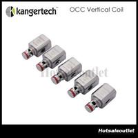 Wholesale upgraded stocks - Huge Stock Original Upgraded Kanger Vertical OCC Coil Organic Cotton Coil 0.5 1.2 1.5ohm for Subtank Mini Plus Nano  Subox Mini Nano Kit