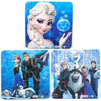 Wholesale Frozen Puzzles sets Princess Elsa Anna Children educational toy