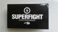 Wholesale Game Card Online - SUPERFIGHT 500-Card Core Deck Superfight card game bundle Super fight super card game online fighters free shipping DHL from faststep 60pcs