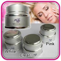 Wholesale Ezflow Clear - Wholesale - Free Shipping 14g  28g Ezflow Gel It Soak Off Professional Nail Art UV Led Bulider Gel 3pcs Lot UGBe