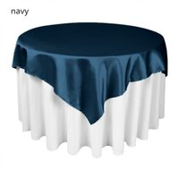 Hot Sale 30 pcs mulit colors square Table Overlay Cloth 55