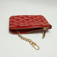 Wholesale France Style - France style Designer classic men women lady Luxury gy coin purse key wallet mini wallet