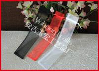 özelleştirilmiş koşu torbaları toptan satış-100 adet / grup Yumuşak İpli Organze Çantaları Korumak için Fan Seçenekleri Özelleştirilmiş Renk Güzel Hediye Çantası 3 Renkler