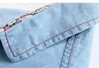 Wholesale Pepe Jeans Shirt - Wholesale-2015 New Arrival Summer Style Denim Shirts Jeans Shirts Men Camisa Jeans Pepe Jeans Light Blue Men Shirts Short Sleeve Lzc-536