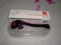 derma rollen mikro nadeltherapie großhandel-Neue 0.25mm ~ 3.0mm 540 Nadeln derma Mikronadelhaut-Rollen-Dermatologietherapie microneedle dermaroller CER