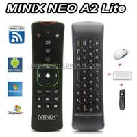 ingrosso android neo minix-Mini tastiera wireless MINIX NEO A2 Lite Air Mouse 2.4Ghz Giroscopio Supporto da gioco Telecomando per X8H Plus Android TV Box Smart Mini PC