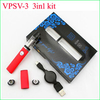 Wholesale Dry Herb Cloud - Newest micro Pen VPSV Elip 3 IN 1 Vaporizer with Cloud G 350mAH Glass Bulb Wax Dry Herb Kit DHL delivery to USA