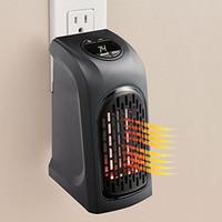 Wholesale Bathroom Ventilation - Mini Electric Home Handy Heater Stove Hand Warmer Plug-In 350 W Wall Heater Hotel Kitchen Bar Bathroom Car Travellingc