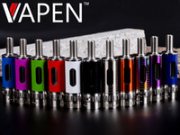 Wholesale Vision Spinner V - iTank spin II atomizer airflow control dual coils rebuildable clearomizer fit on ego vision spinner 2 II 3 battery v MOW atlantis EMOW