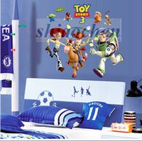 Superior Toy Story Wall Stickers PVC Mural DIY Backdrop Bedroom Living Room Poster  Buzz Woody Wallpapers TV Great Ideas