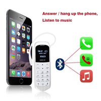 Wholesale magic cellphone - Original mini BT LONG-CZ J8 Magic voice bluetooth dialer cellphone FM radio mini cell bluetooth 3.0 earphone long standby mobile phone