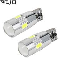 Wholesale vw golf light bulbs - WLJH Canbus LED T10 W5W 5630 SMD For VW Golf 5 6 Polo Jetta Bora Passat 3C CC B7 Tiguan Eos