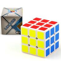 jouets éducatifs pour adultes achat en gros de-Magic Cube Professionnel Vitesse Puzzle Cube Twist Jouets 3x3 Classique Puzzle Jouets Magiques Adulte et Enfants Jouets Éducatifs DHL gratuit