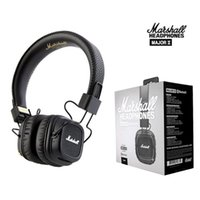 Marshall Major II 2 2nd Generation Leder Kopfhörer Mit Mikrofon Noise Cancelling Headset Deep Bass Studio Monitor Rock Pro DJ HiFi Kopfhörer