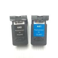 cartucho recarregável irmão venda por atacado-YOTAT Cartucho de tinta remanufaturado PG-440XL CL-441XL para Canon MG2240 MG3140 MG3240 MG4240 MG3540 MX394 MX474 MX534
