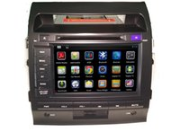 """Wholesale Two Din Car Android System - 8"""" digital panel android 4.4 system two din quad core car DVD player for TOYOTA LAND CRUISER"""