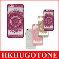 Wholesale Iphone5 Vintage Case - New Design Vintage Pattern Hard Case Cover phone cases for iphone 6 cases iphone 6s cases iphone5 5s ShockProof Back Skin Protective Cover