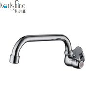 Wholesale Brass Wash Sink - Wholesale- Free shipping Brass Kitchen faucet single cold tap rotating sink faucet,cheap and high quality,washing machine taps
