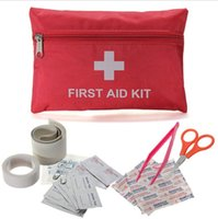 Wholesale Outdoor Emergency Medical Rescue Bag First Aid Kit Hiking Camping Treatment Pack