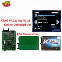 Wholesale ecu master tuning tool online - Ktag V7 V2 Online No Token Limit Master K Tag ECU Programmer K Tag ECU Chip Tuning Tool Gifts ECM Winols