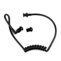 Wholesale Walkie Talkies Black - Walkie Talkie Earpiece New Replacement Black Coil Acoustic Air Tube + Earplug for Walkie Talkie Earpiece C2059A Alishow