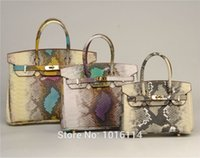 Wholesale Largest Bag - Hot Width Largest Size Classic Max Women Bag Birking Golden Hardware Kel li Purse Luxury Bags 2016 Snake Skin Grain bag freeshipping