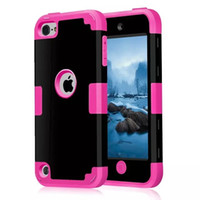 Wholesale Robot Case 5g - 3in1 Shockproof tpu+PC cover for iphone 6s 6 & plus dual layer case for iphone 5S 5G touch 5 samsung galaxy note5 robot defender