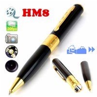 Wholesale Golden Hide - Spy Camera 1280*960 Spy Pen Camera Golden With Black Color Hidden Webcam Camera 11#